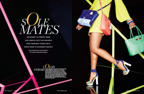 designscene:   Sole Mates by Tom Corbett for Essence