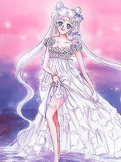Sailor Moon on the runway Koan: Mugler FW 1992, Setsuna: Chanel FW 1992, Serenity: Dior Haute Couture SS 1992, Hotaru: Mugler FW 1992, Calaveras: Christian Lacroix Haute Couture FW 1992
