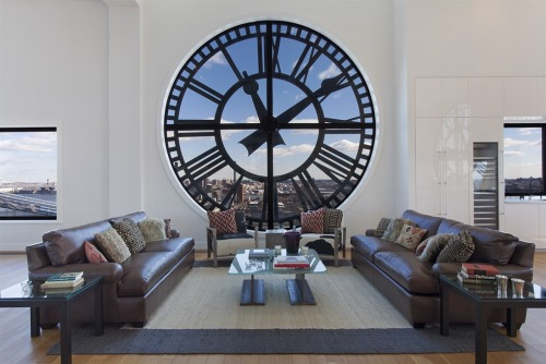 lettersfromtitan:  dontbearuiner:  getdowngetfunky:  msavignon:  Clocktower apartment listed for $18M, you get 3 bedrooms, 3.5 baths, one of the best views in the city, private elevator, and the creepy pleasure knowing that drivers on the Manhattan Bridge are slowing down to take pictures of your home.  Bathroom: love. Kitchen: hate.  I'm crying right now. Crying.  Uggggggh, I want that apartment. So does basically everyone I know back home. <3  Oh my god, is it on the market, AGAIN?