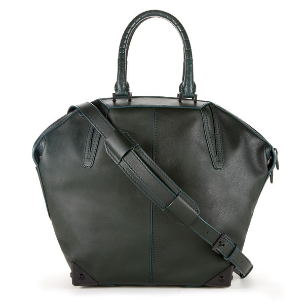 Get This Alexander Wang Bag Signed by the Man Himself The Re/Create New York auction for Sandy relief, launched last week by CREATE THE GROUP, has been a dream so far, with everyone from Kate Moss to Kanye West donating items for charity. In partnership with eBay and Rackspace, a few pieces have already been sold on the auction site, RecreateNewYork.org. The next round of ten items is available January 17th, including this one-of-a-kind bag custom-designed and signed by Alexander Wang. To bid on this piece, visit RecreateNewYork/Alexander-Wang. After January 17th, there will be one more consecutive auction beginning January 24th.  (Photo: Courtesy RecreateNewYork.org. Text by Jauretsi)