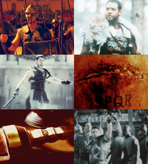 [1/∞]Favorite Movies (in no particular order): Gladiator