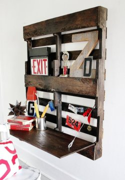 From Pallet to Compact Wall Desk ? Thistlewood Farms (Unplugged)