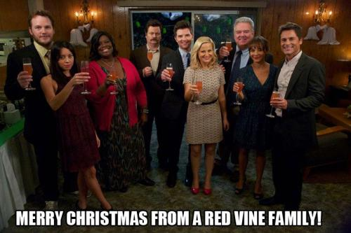 popgurlie:  Merry Christmas from Parks and Recreation, courtesy of Jim O'Heir.  (posted a day late, because, well. Jerry.)
