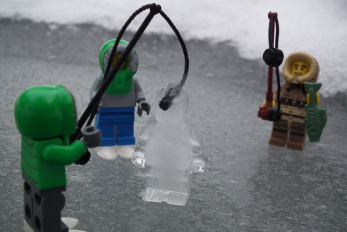 The Icefig Cometh by Paranoid from suffolk on Flickr.Ice Fishing!