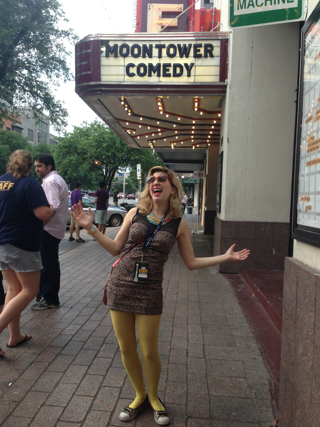 Last day of laughs at @MoontowerComedy.
