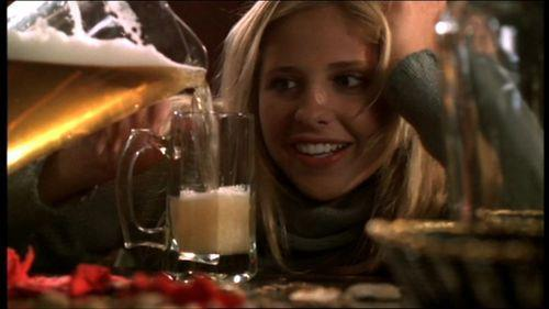 Xander:And was there a lesson in all of this? What have we learned about beer? Buffy:Foamy! Xander:Good. Just so that's clear.
