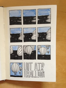 Sequential Illustration - ideas and experiments - 10 frame sequence - final sequence could do with more colour and more detail with in some of the frames