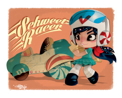 Schweetz Racer *Wreck it Ralph* by *KWESTONE