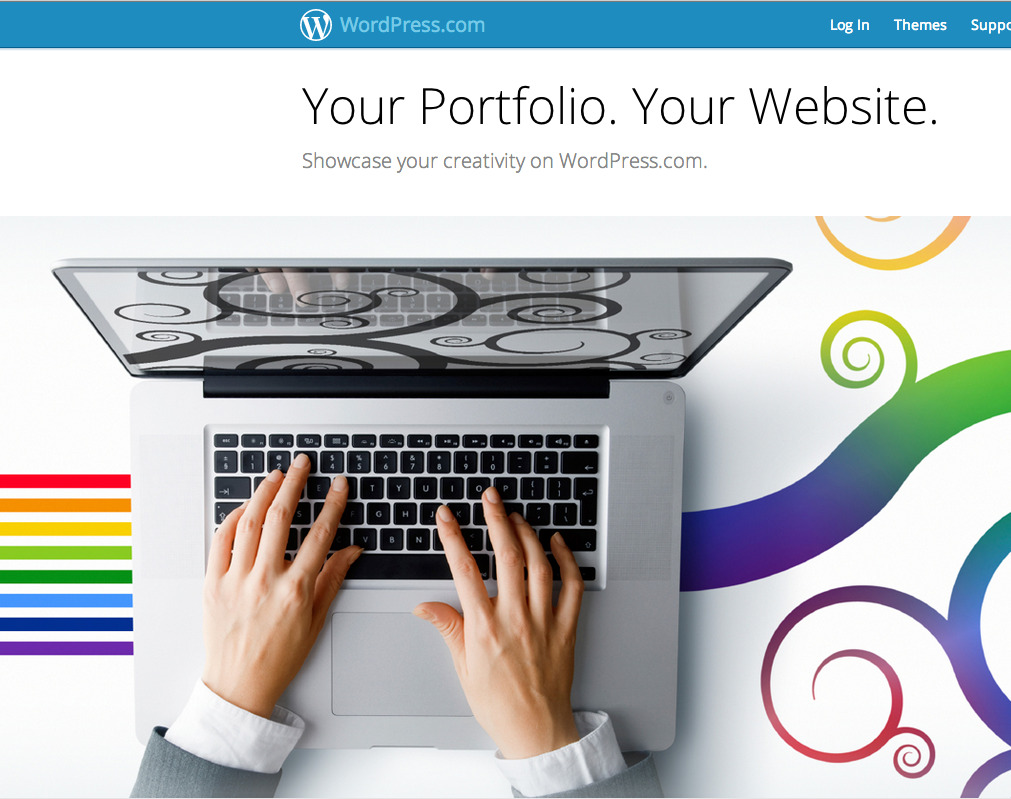 WordPress launched a slick portfolio site builder today! It's aimed at photographers, designers, and visual artists in general. You'll be able to choose from 30 themes and at an extra fee can have access to the CSS for more control over the look. WordPress Launches Portfolio Builder via TechCrunch