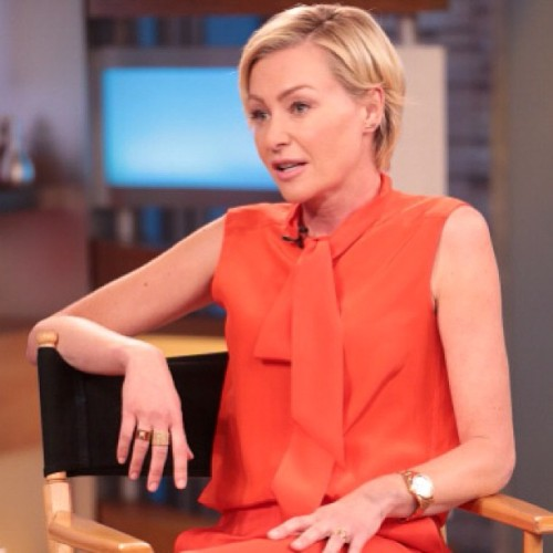 #portia #portiaderossi #gma #cute #blonde #lovely #orange