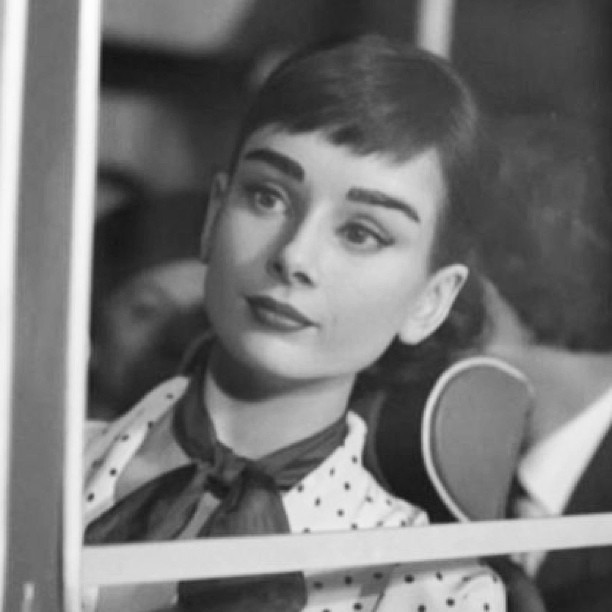 #audreyhepburn #audreyeverlasting #rare #tumblr #oldhollywood #pretty #fashion #love #classic #vintage
