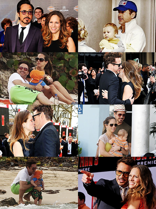 "rdjismydrug:  ""I'm married to a great woman, she gets to be my boss and we get to raise our baby together. That's the true centre of my universe.""  Robert Downey Jr - Hello [May 2013]"