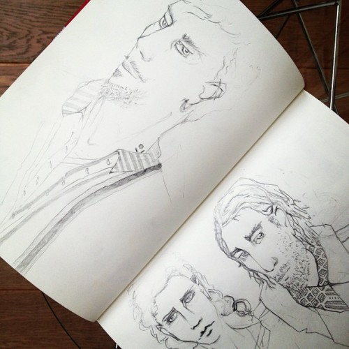 Some recent sketches I made