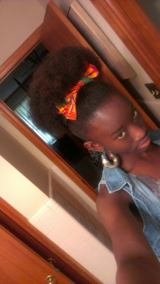 My puff happended to be on point that day.