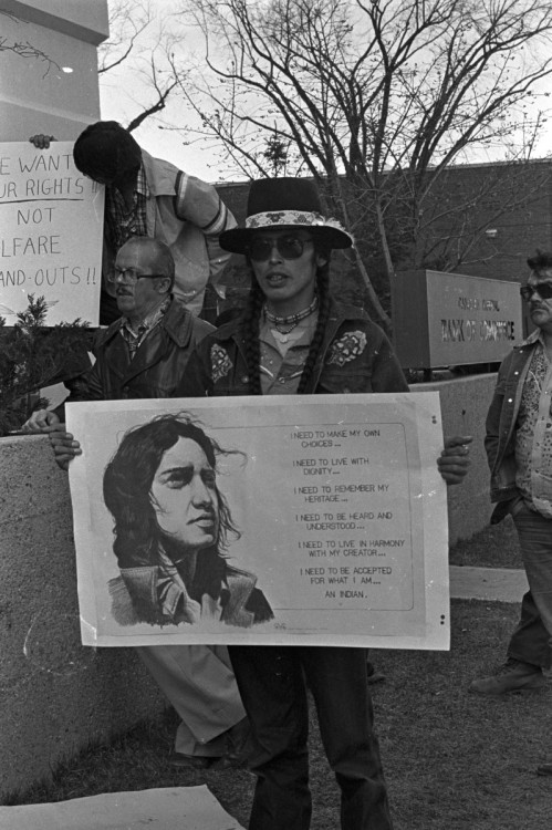 Bigstone Cree Nation March on Edmonton, 1981