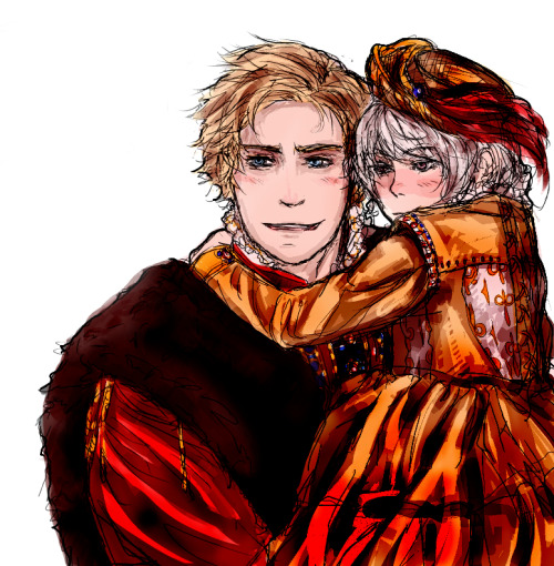 that-odd-guy:  I've been wanting to draw medieval Nordics for months now ;u;