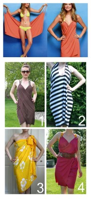 truebluemeandyou:  DIY UPDATED Victoria's Secret Beach Cover Up and Other Cover Ups Tutorial, FAQs and Patterns from La Vie en Rose here. This was one of my most popular summer posts here and Auna has kindly made a FAQ page with patterns for her cover ups to make them easier to construct (plus links to all the past beach cover up tutorials). *Please note bloggers are NOT allowed to post the patterns - it steals views away from La Vie en Rose's site and she's a friend of mine. Top Photo: $49.50 (not available anymore) Victoria's Secret Beach Cover Up here (my post because no longer on VS site). Classic or Victoria's Secret Beach Cover Up Knockoff DIY by La Vie en Rose. Halter Beach Wrap DIY by La Vie en Rose. No Sew  Pareo Beach Wrap DIY by La Vie en Rose. High Back Beach Wrap DIY by La Vie en Rose.