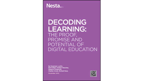 Decoding Learning report - Nesta
