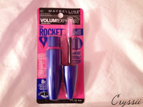 Heard a lot of good things about this mascara, gonna try it out (:
