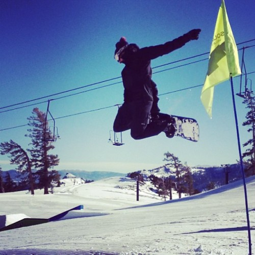 Shred it and forget it!!! (at Tahoe)