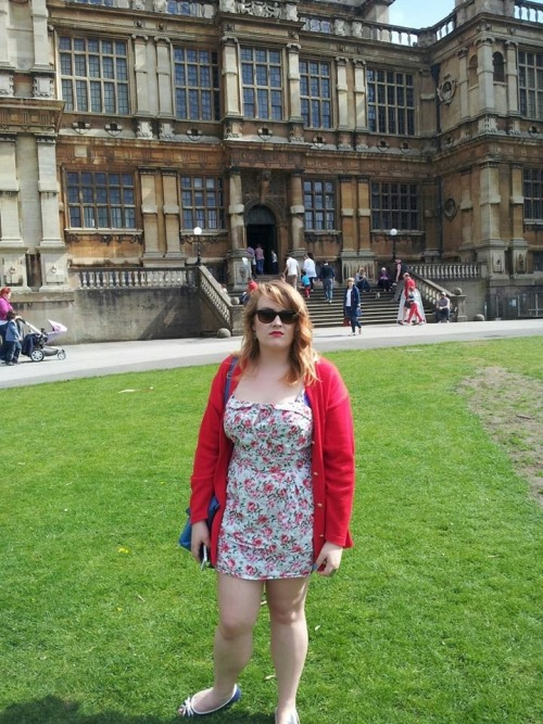 Today we went to Wayne Manor, I was more impressed than I look.