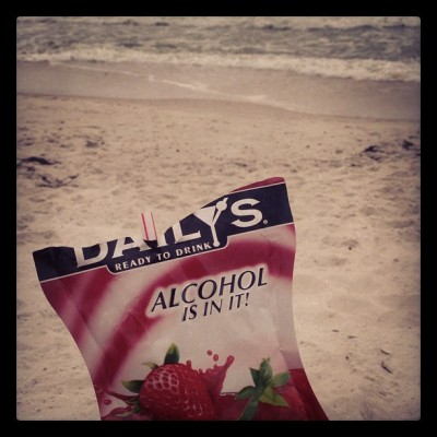 Where is the alcohol?! (at Gulf State Park - Cotton Bayou Beach)