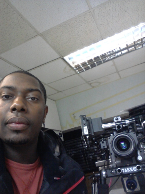 ..And here's a mug shot of me next to the Arri Alexa #camerageek