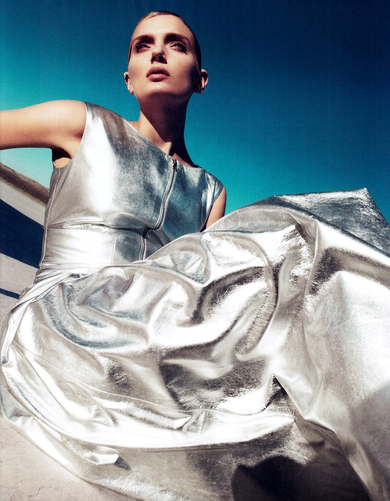 stormtrooperfashion:  Lily Donaldson by Paola Kudacki for Harper's Bazaar, June 2013