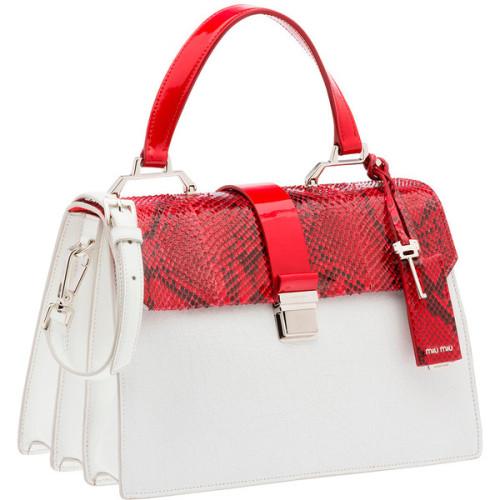 polyvore women& 039;s fashion bags handbags white leather handbags white leather purse miu miu purse miu miu handbags leather purse