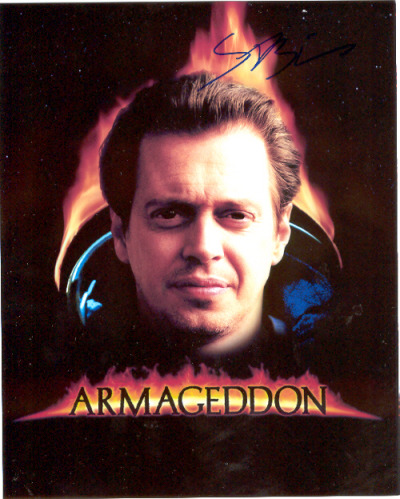 frickyeah1990s:  this is one of my most prized possessions, an Armageddon mini-poster signed by Steve Buscemi…