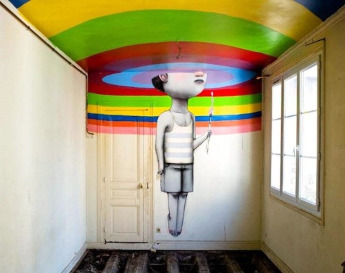 Street Artist Paints Whimsical Murals Around the World - My Modern Metropolis