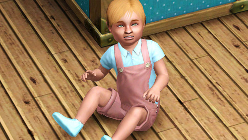 Bruno as a toddler.