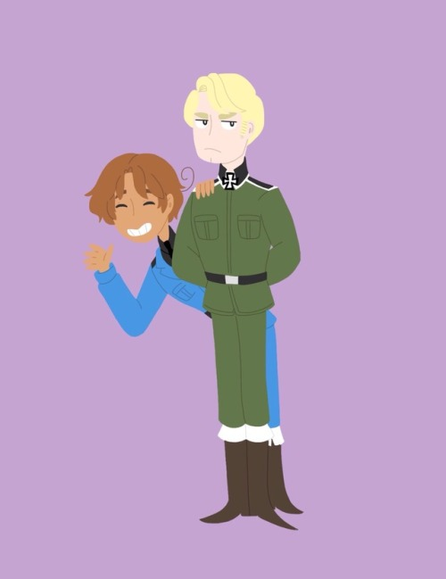 aph germany aph italy gerita aph north italy ludwig beilschmidt feliciano vargas hetalia axis powers hetalia my art I haven& 039;t drawn hetalia in so long when I usually do its America yet I still didn& 039;t need a reference because I used to draw them so much dear lord