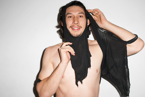 terrysdiary:  Adam Driver at my studio #2