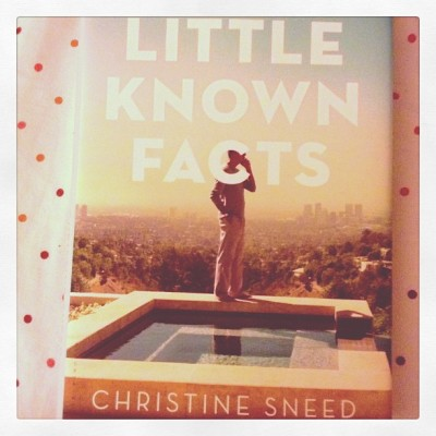 Little Known Facts — Christine Sneed #bookhaul