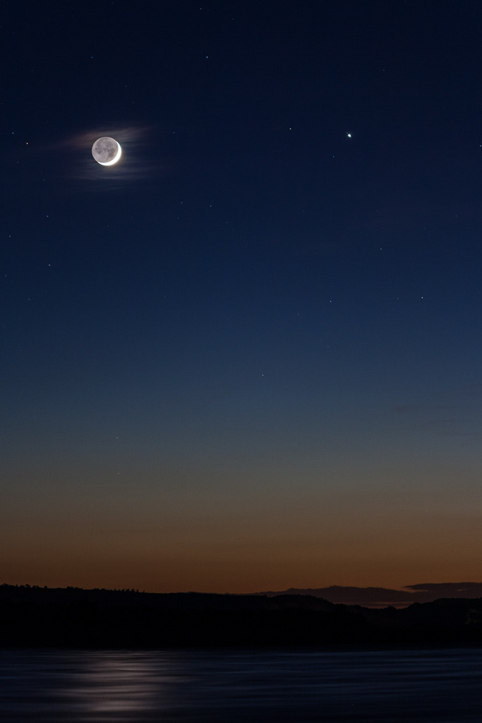 Jupiter-Moon Conjunction — Marc Deldem