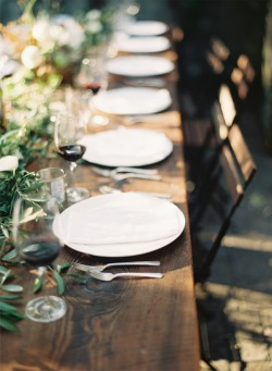 inspiration-guide:  rustic tablescape