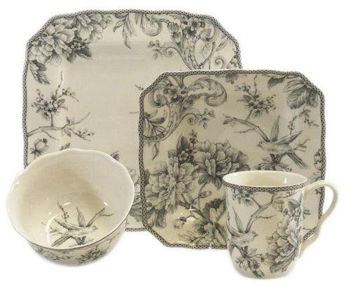 Beautiful china set available on One Kings Lane today for $99!