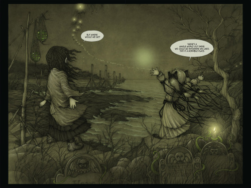 ARCHAIA PANEL OF THE DAY: HOPELESS MAINE Those looking for a way out of the dreary town of Hopeless struggle to find a place to belong.