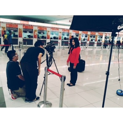 Shooting drama….nyo (at Terminal Bersepadu Selatan (TBS) / Integrated Transport Terminal (ITT))