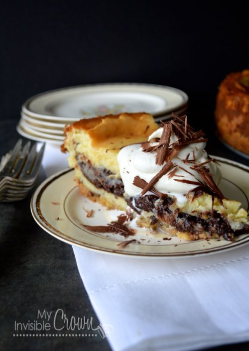 gastrogirl:  warm chocolate cheesecake.