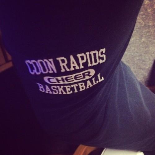 Wearing my @amandayanggg sweatpants. #MissYou #YouAreKeepingMeWarm!