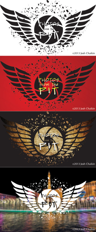 Logo for Josh Chaikin's Photos from the Pit. Check out his rockin' concert photography at http://www.photosfromthepit.com