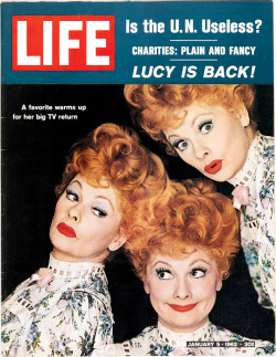 life:  On this day in LIFE magazine — January 5, 1962: Lucy is back!