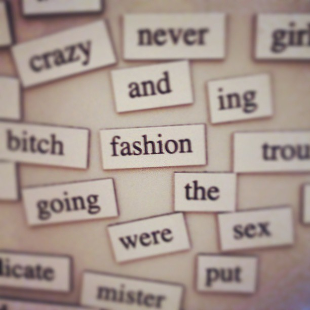 #fashion on the #fridge