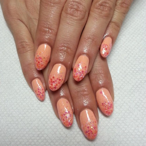 Fresh Original Bad Ass Nails For The People Pretty In Peach