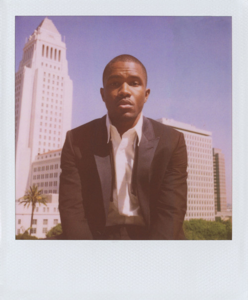 thisisbandofoutsiders:  Spring. Frank Ocean in Band of Outsiders. Photographed by Scott Sternberg at the Los Angeles Times Building.  New images drop here and on our instagram (@thisisbandofoutsiders) through Sunday.