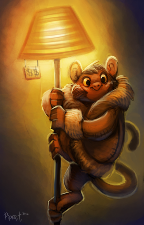 piperdactyl:  DAY 22. IKEA MONKEY! (35 Minutes) asdfjfjghjkh. A monkey with a fancy winter jacket lost in Ikea. I am proud to be Canadian today.