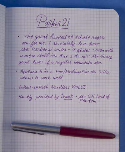 Vintage Parker 21 ReviewPrior to acquiring the reproduction style pens known as the HERO from China, I purchased a Parker…View Post