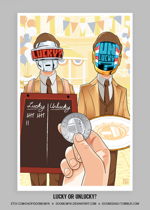 Lucky or Unlucky? by Robert Mangaoang Etsy | Deviant Art | Tumblr (Via: doomsdaily)